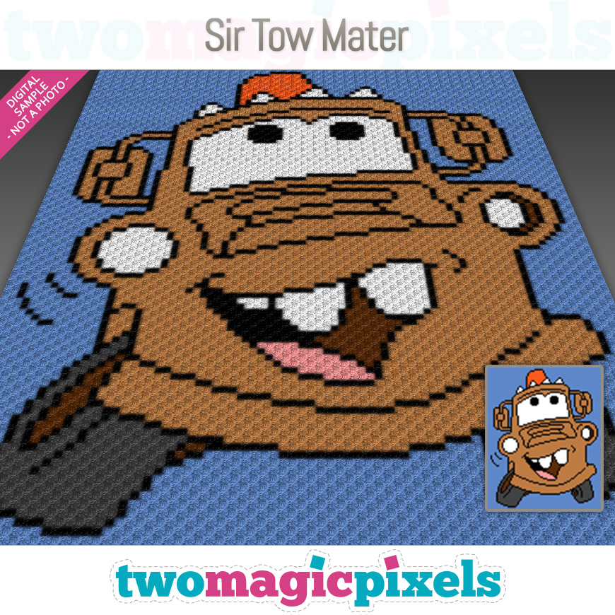 Sir Tow Mater by Two Magic Pixels