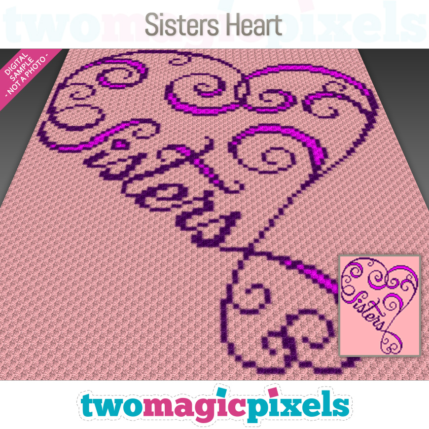 Sisters Heart by Two Magic Pixels