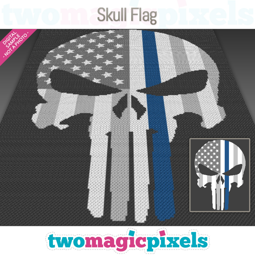 Skull Flag by Two Magic Pixels