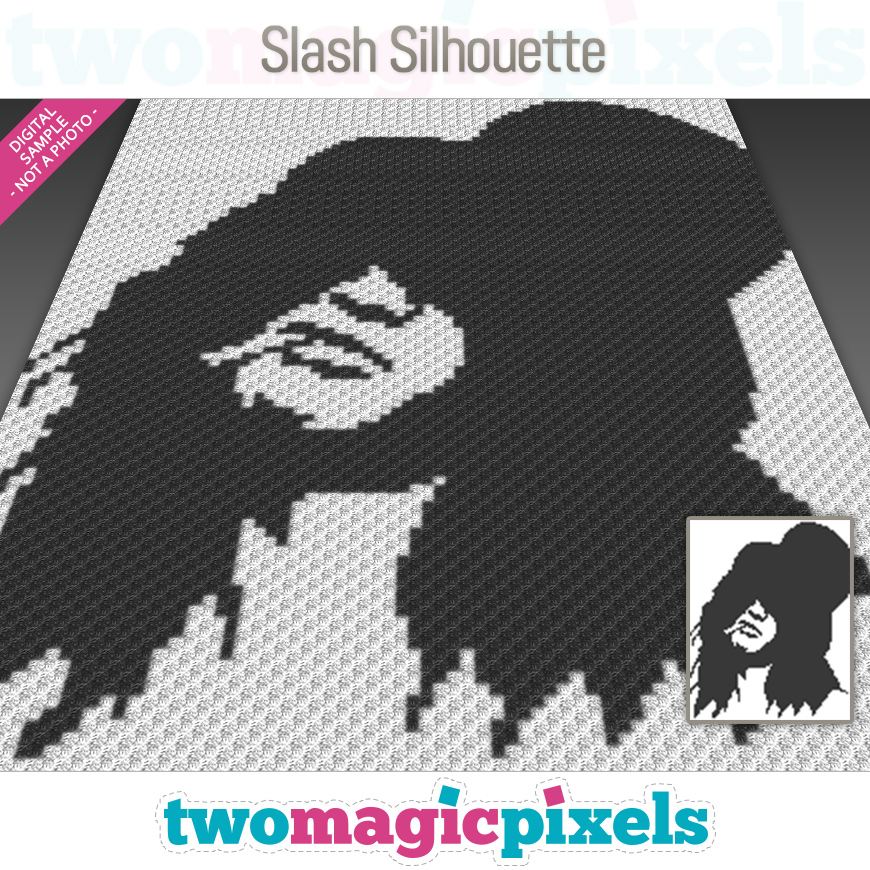 Slash Silhouette by Two Magic Pixels