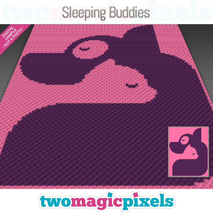 Sleeping Buddies by Two Magic Pixels