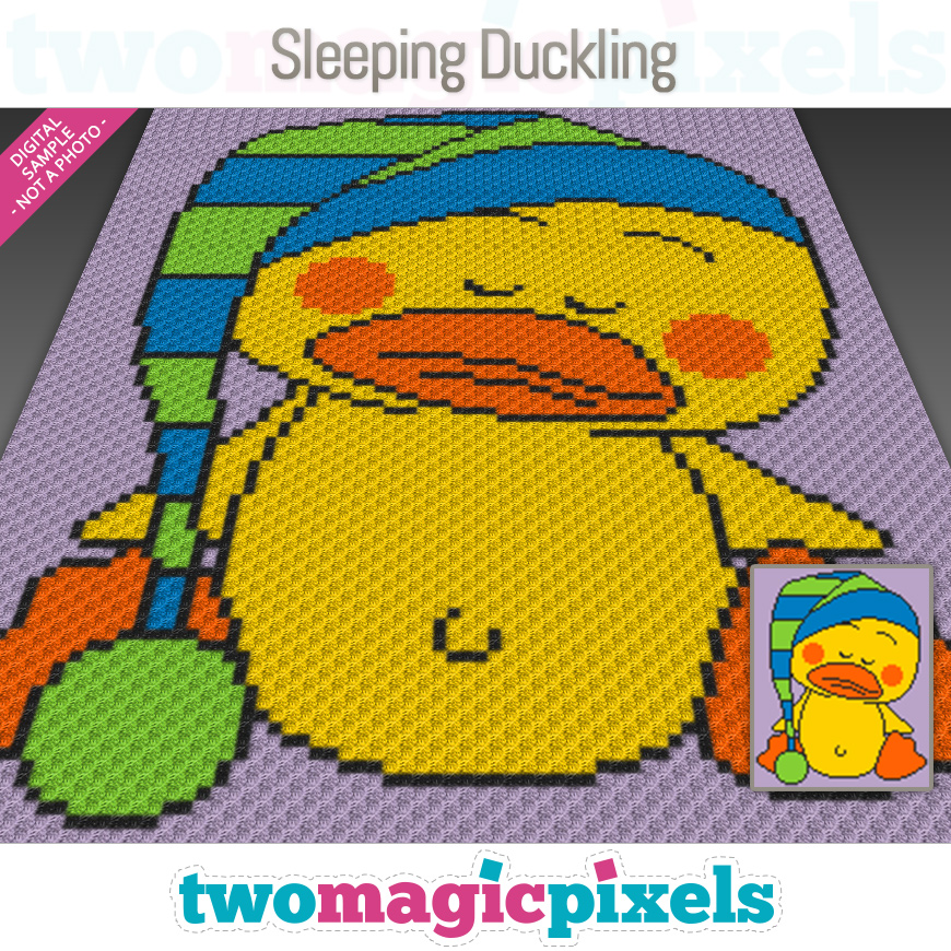 Sleeping Duckling by Two Magic Pixels