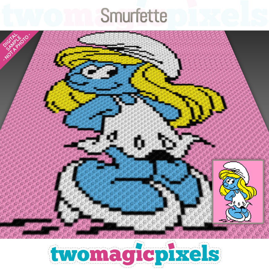 Smurfette by Two Magic Pixels