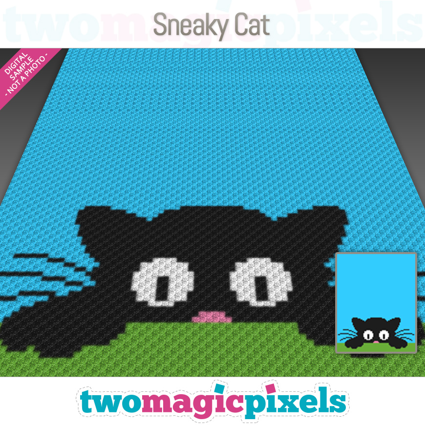 Sneaky Cat by Two Magic Pixels