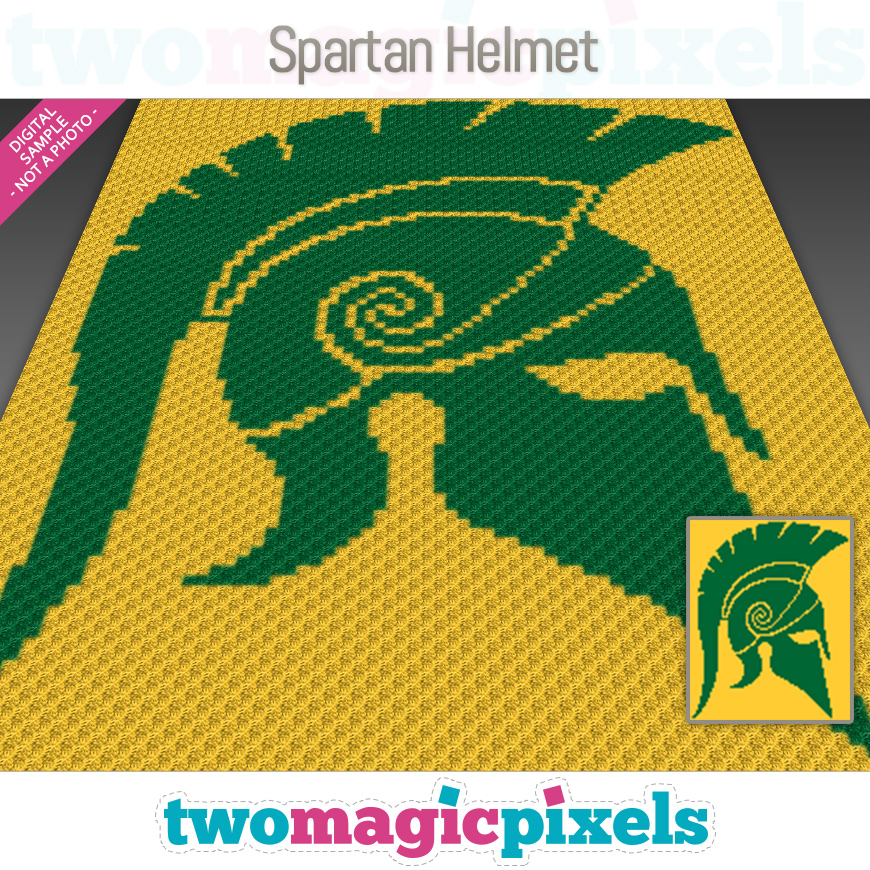 Spartan Helmet by Two Magic Pixels
