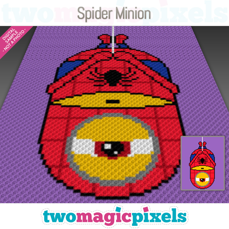 Spider Minion by Two Magic Pixels