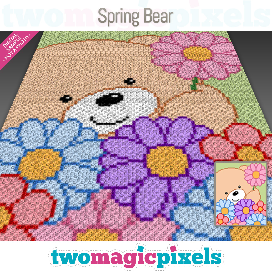 Spring Bear by Two Magic Pixels