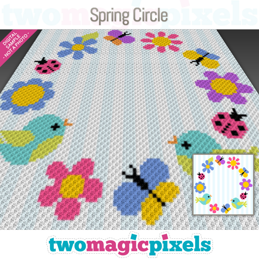 Spring Circle by Two Magic Pixels