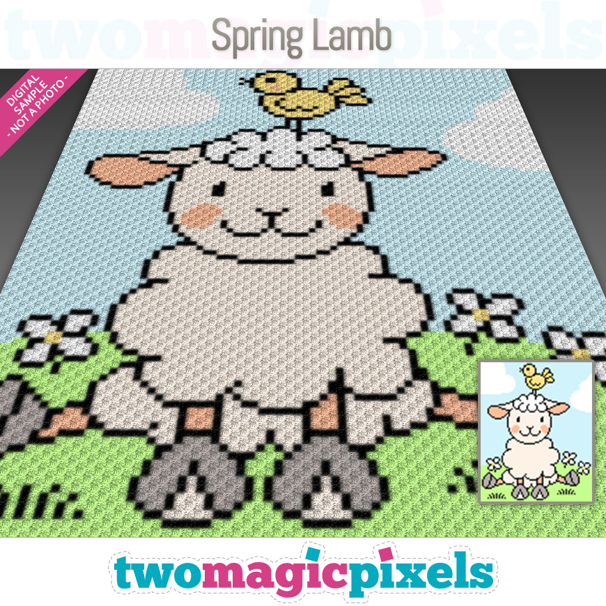 Spring Lamb by Two Magic Pixels