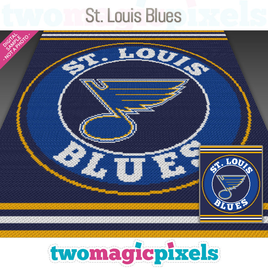 St. Louis Blues by Two Magic Pixels