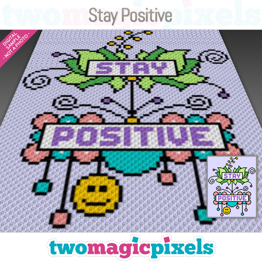 Stay Positive by Two Magic Pixels