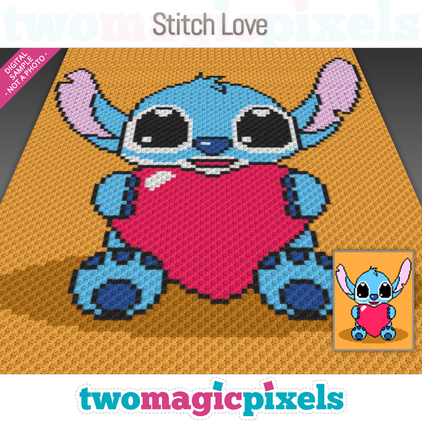 Stitch Love by Two Magic Pixels