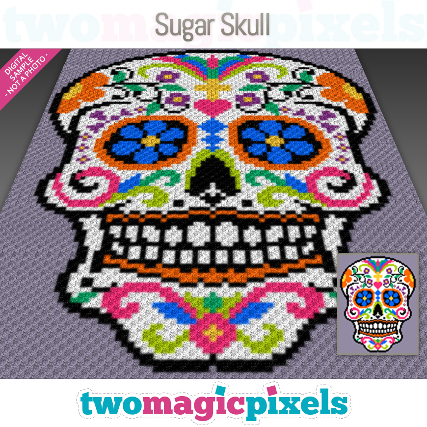 Sugar Skull by Two Magic Pixels