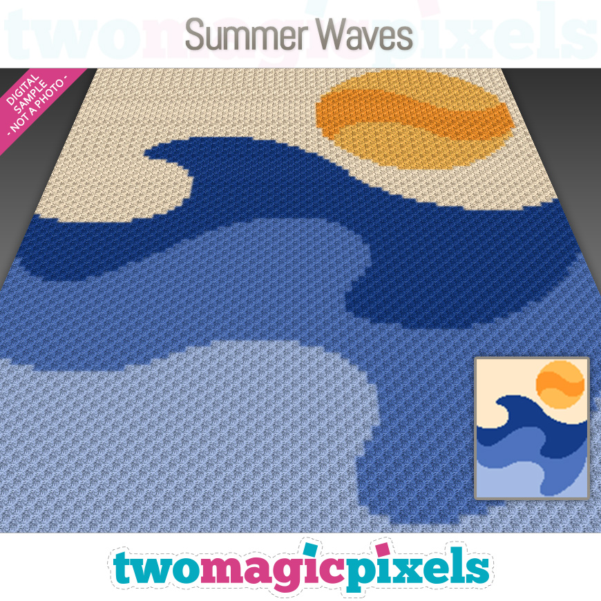 Summer Waves by Two Magic Pixels