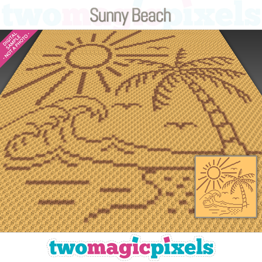 Sunny Beach by Two Magic Pixels