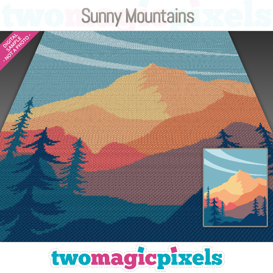 Sunny Mountains by Two Magic Pixels