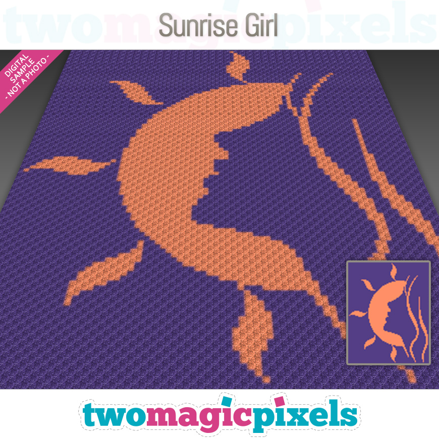 Sunrise Girl by Two Magic Pixels