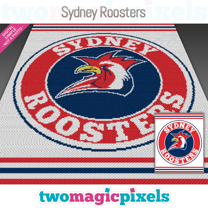 Sydney Roosters by Two Magic Pixels
