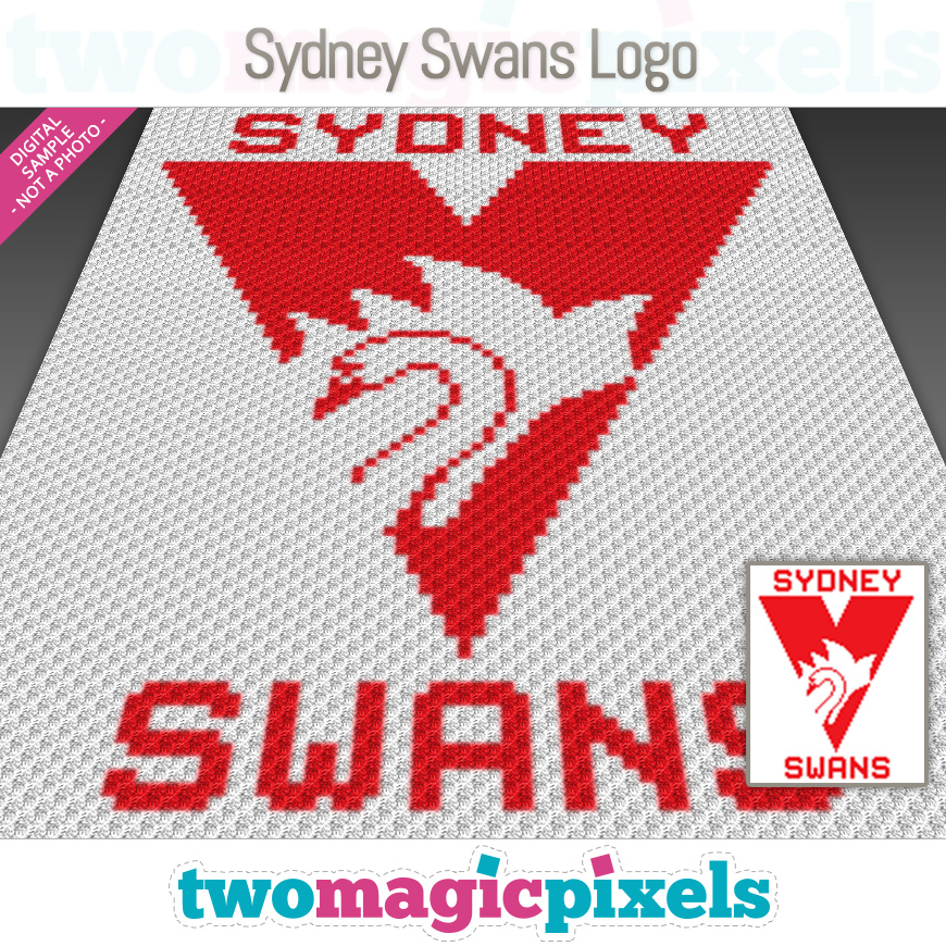 Sydney Swans Logo by Two Magic Pixels