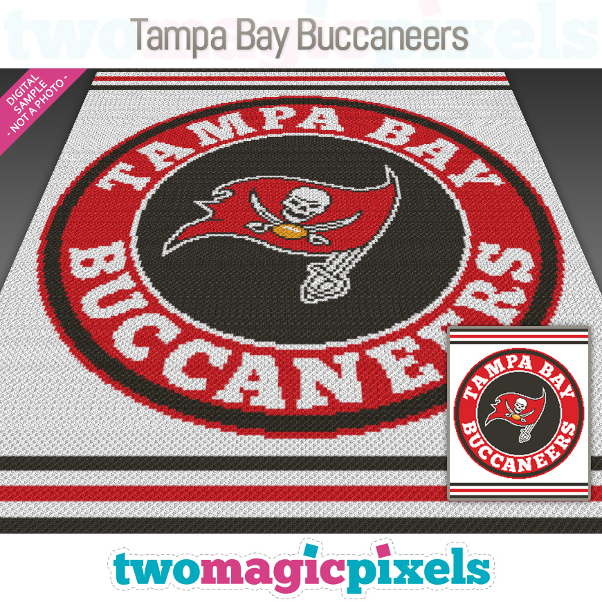 Tampa Bay Buccaneers by Two Magic Pixels