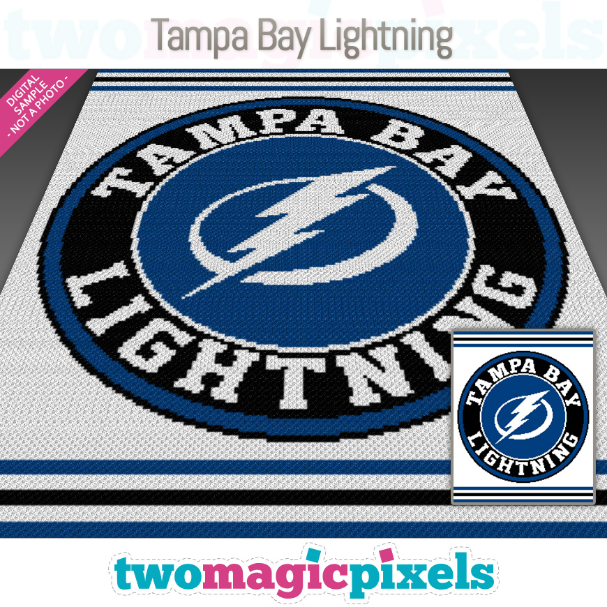 Tampa Bay Lightning by Two Magic Pixels