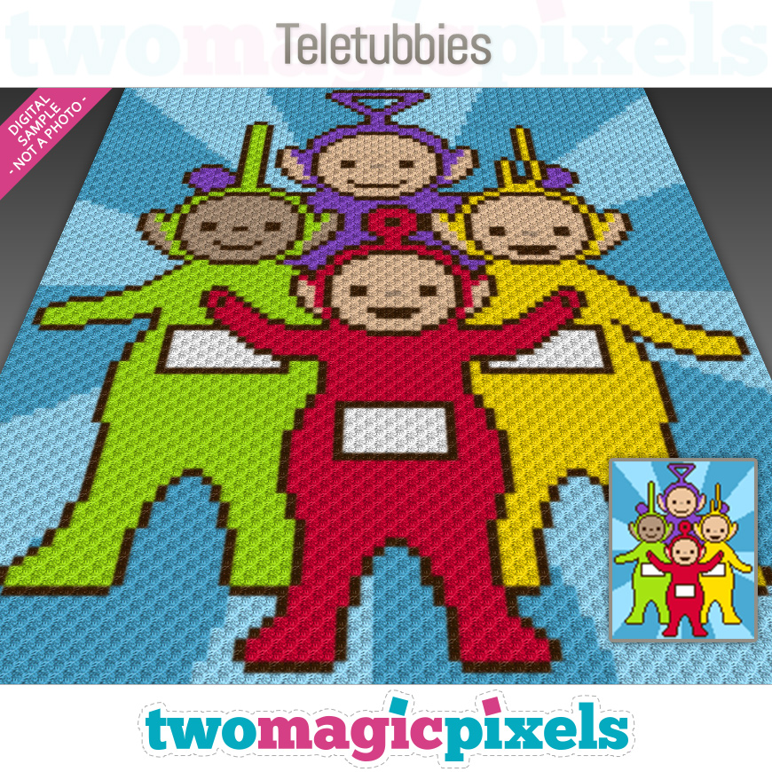 Teletubbies by Two Magic Pixels