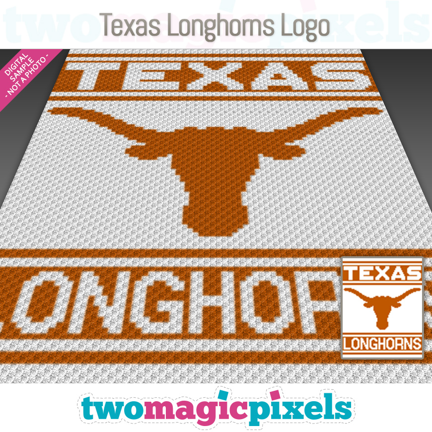 Texas Longhorns Logo by Two Magic Pixels