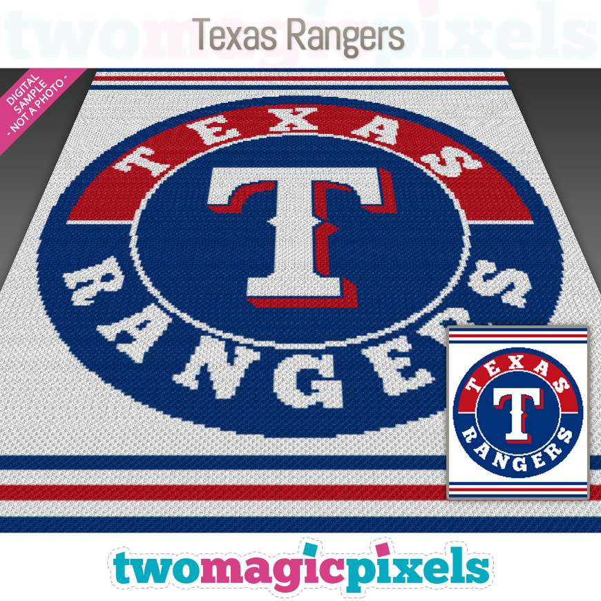 Texas Rangers by Two Magic Pixels