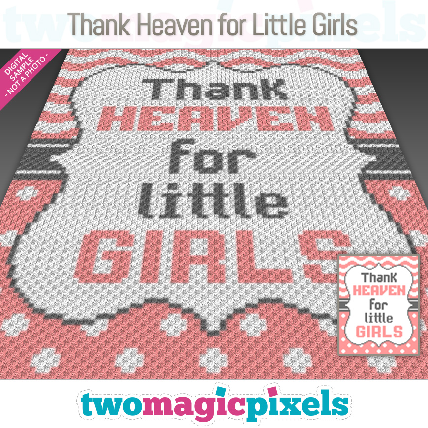 Thank Heaven for Little Girls by Two Magic Pixels