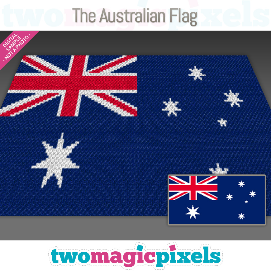 The Australian Flag by Two Magic Pixels