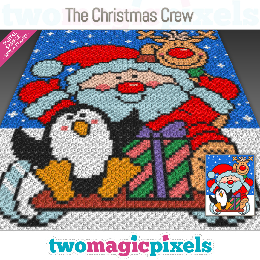 The Christmas Crew by Two Magic Pixels