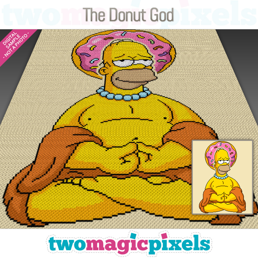 The Donut God by Two Magic Pixels