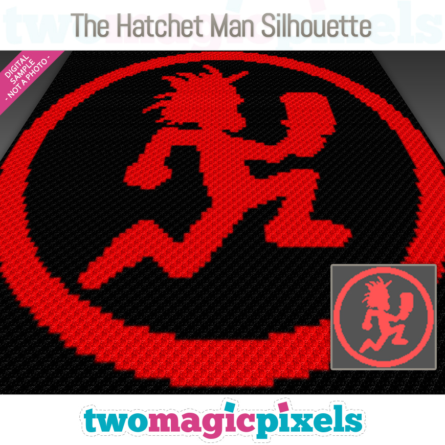 The Hatchet Man Silhouette by Two Magic Pixels