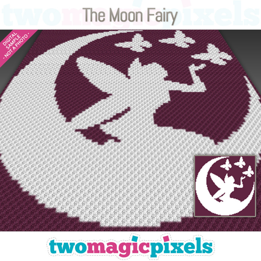 The Moon Fairy by Two Magic Pixels