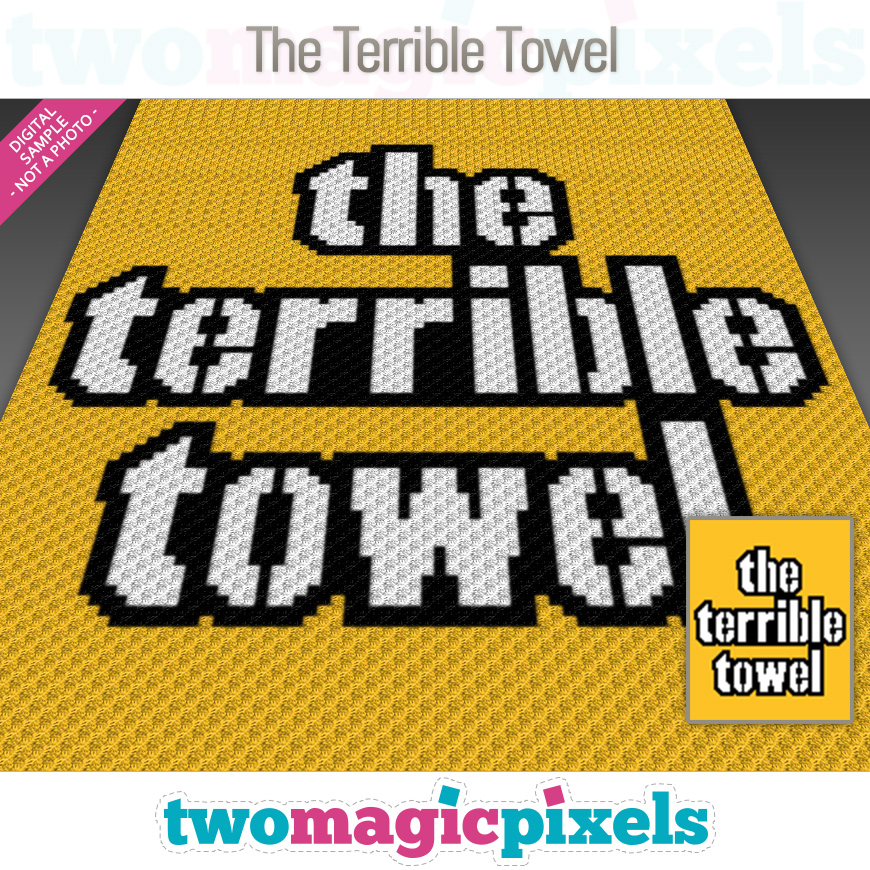 The Terrible Towel by Two Magic Pixels