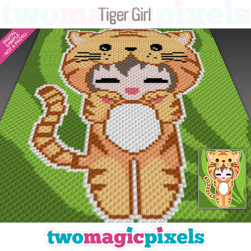 Tiger Girl by Two Magic Pixels
