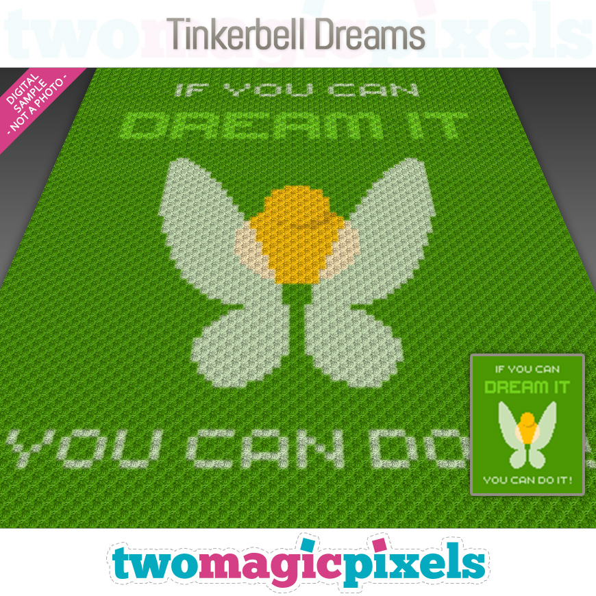 Tinkerbell Dreams by Two Magic Pixels