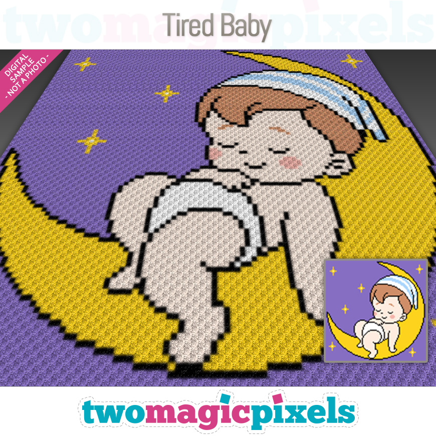 Tired Baby by Two Magic Pixels