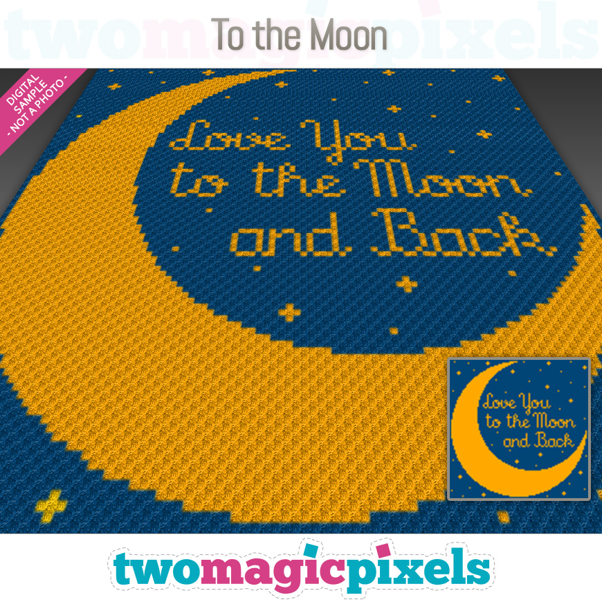 To The Moon by Two Magic Pixels