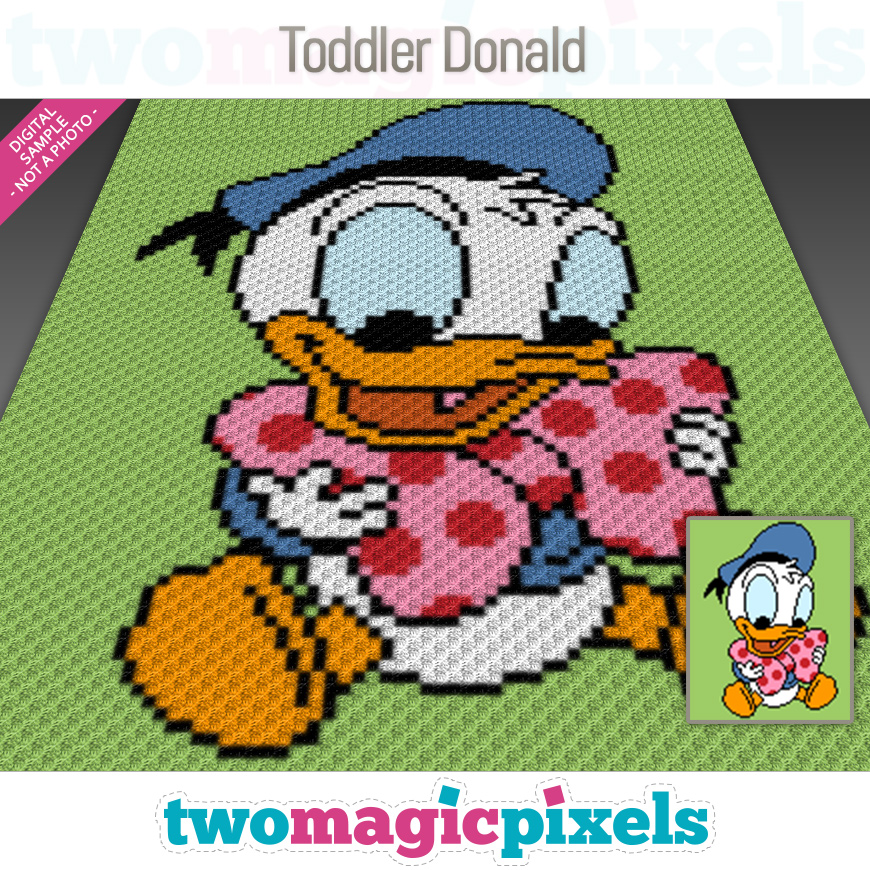 Toddler Donald by Two Magic Pixels