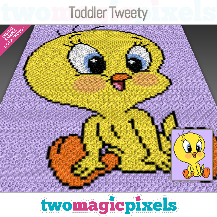 Toddler Tweety by Two Magic Pixels