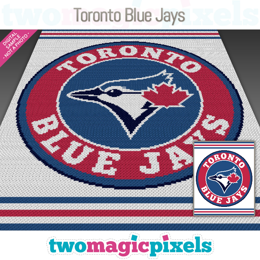 Toronto Blue Jays by Two Magic Pixels