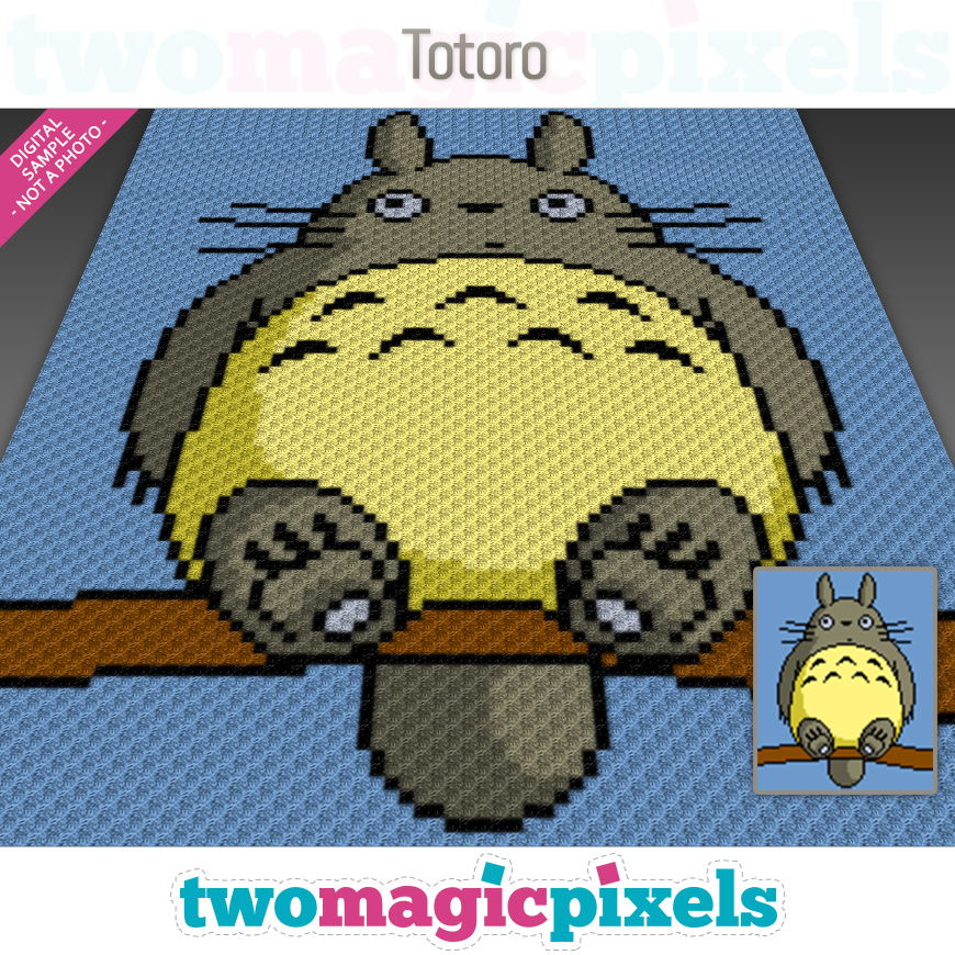 Totoro by Two Magic Pixels