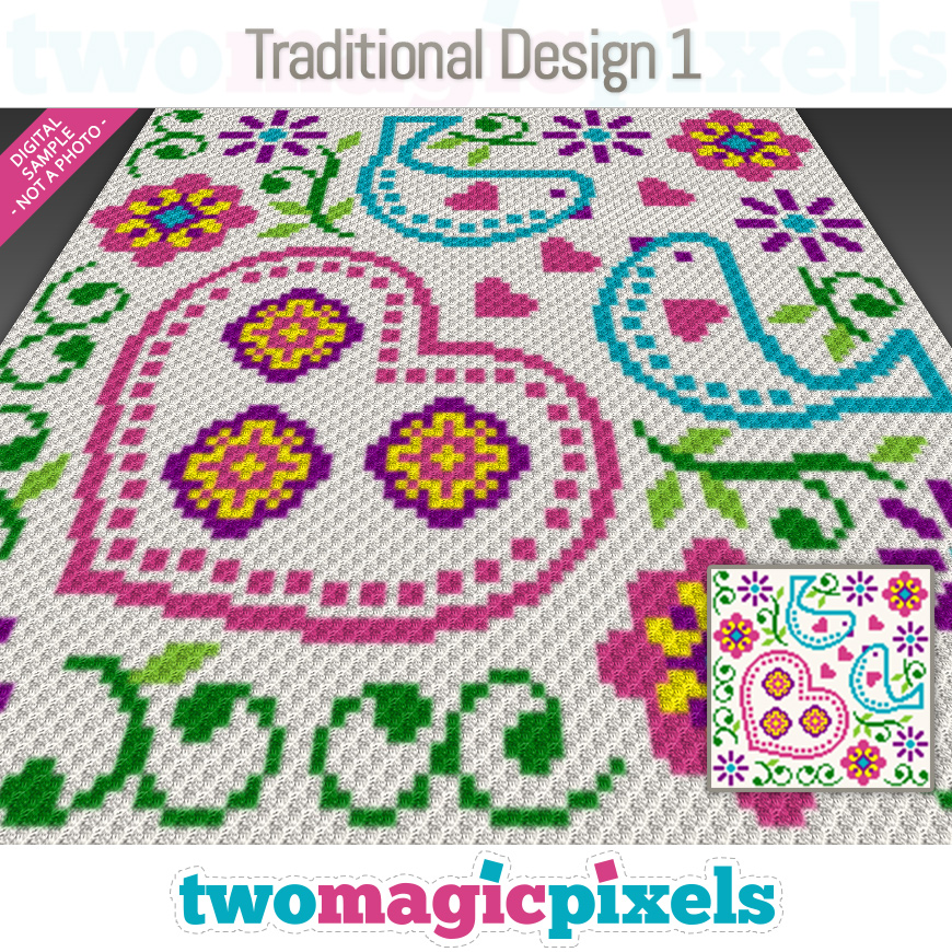 Traditional Design 1 by Two Magic Pixels