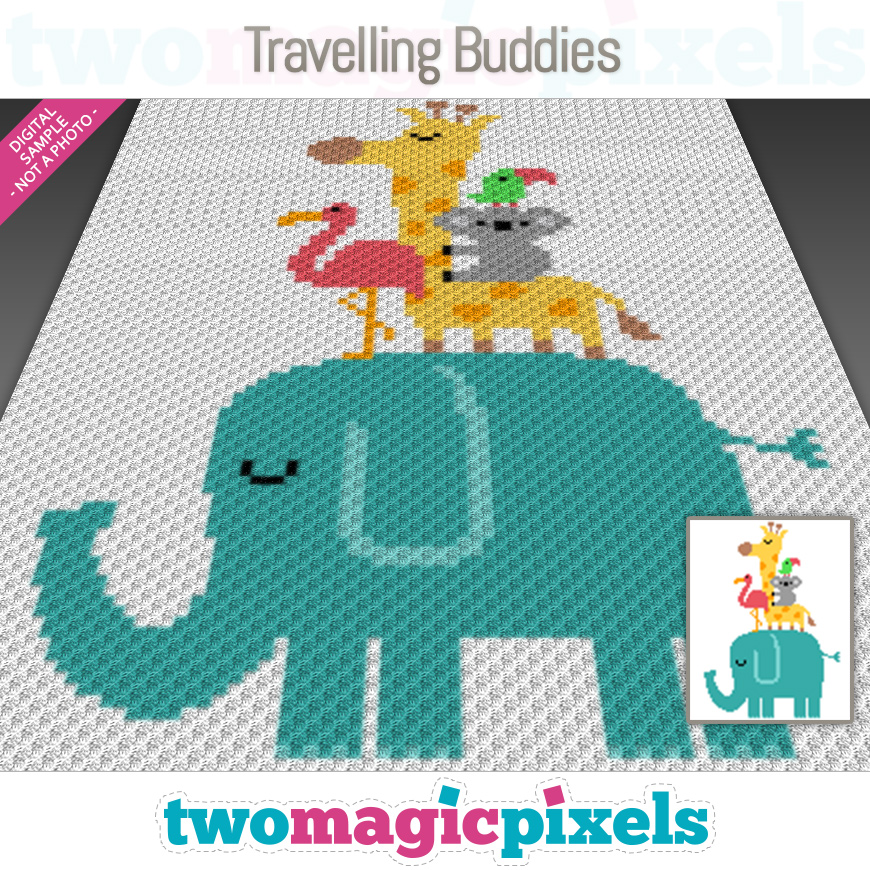 Travelling Buddies by Two Magic Pixels