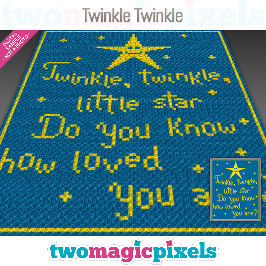 Twinkle, Twinkle by Two Magic Pixels