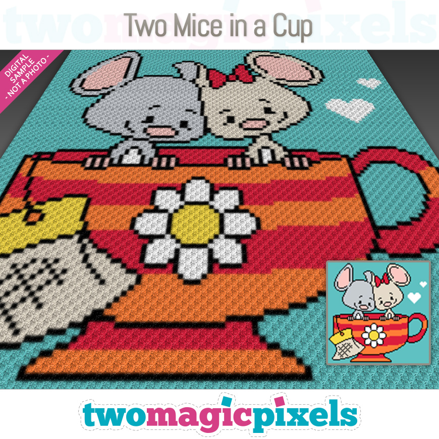 Two Mice in a Cup by Two Magic Pixels