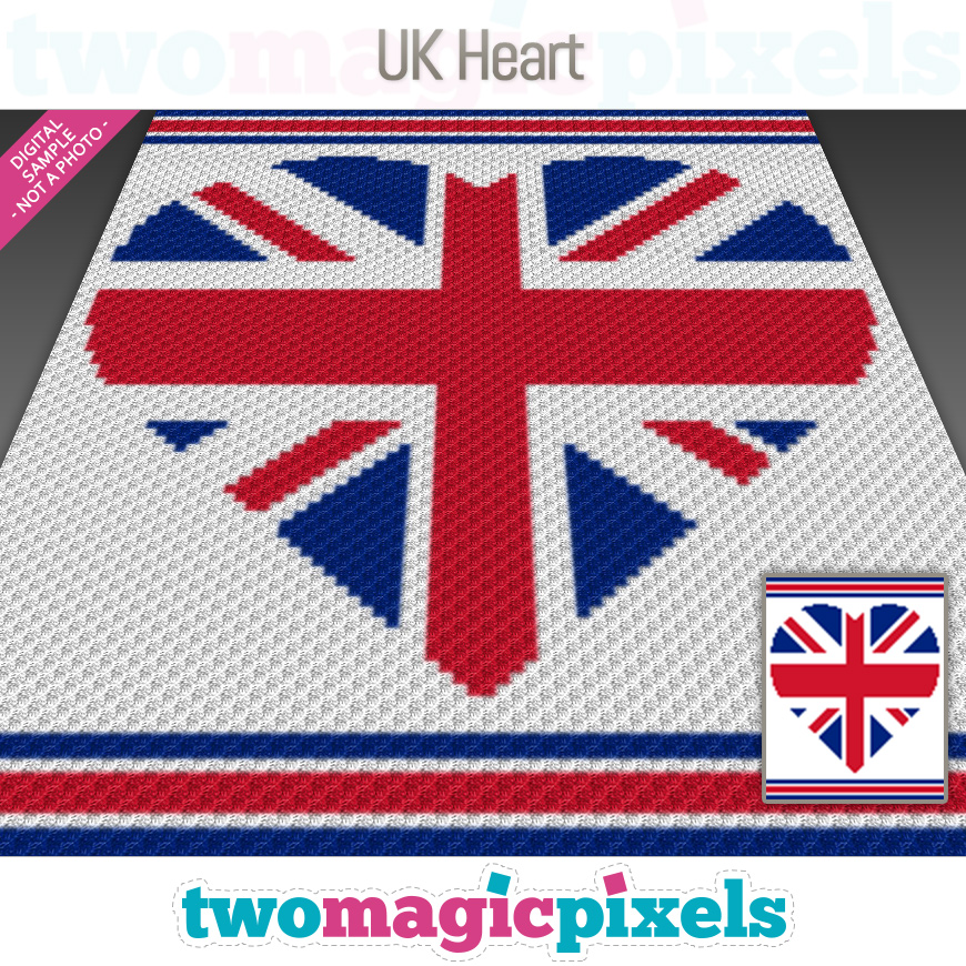 UK Heart by Two Magic Pixels