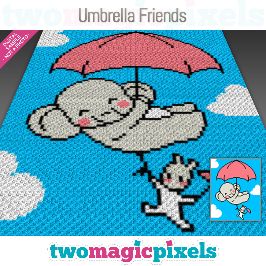 Umbrella Friends by Two Magic Pixels