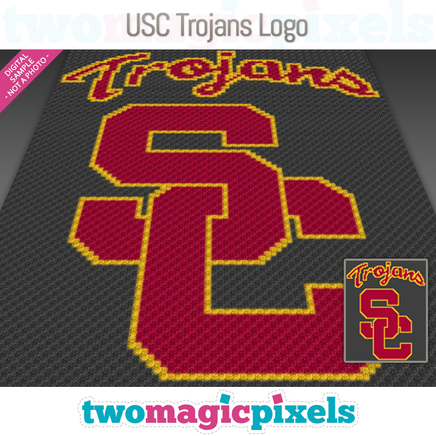 USC Trojans Logo by Two Magic Pixels